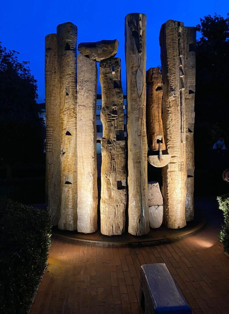 Installazione per giardino Località in provincia di Mantova